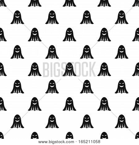 Ghost pattern. Simple illustration of ghost vector pattern for web