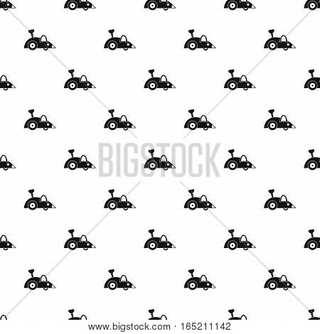Clockwork mouse pattern. Simple illustration of clockwork mouse vector pattern for web