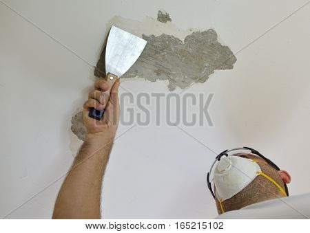 Scraping A Ceiling