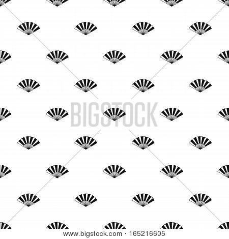 Japanese fan pattern. Simple illustration of japanese fan vector pattern for web