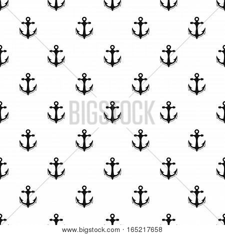 Anchor pattern. Simple illustration of anchor vector pattern for web
