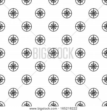 An ancient compass pattern. Simple illustration of an ancient compass vector pattern for web