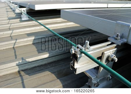 Standard Grounding System of Solar PV Rooftop Power Station