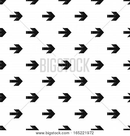Right arrow pattern. Simple illustration of right arrow vector pattern for web