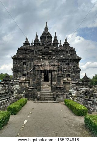 Plaosan is the name for the temple complex is located in Hamlet Plaosan Bugisan Village, District Prambanan, Klaten regency, Central Java province, Indonesia.
