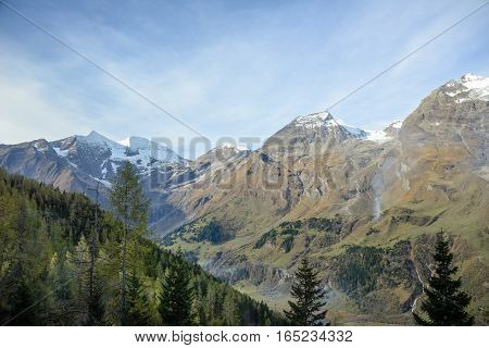 Grossglockner Mountains, Hohe Tauern National Park, The Alps, Austria poster