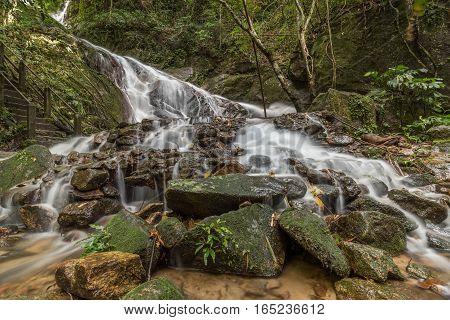 Mae Kampong Waterfalls in Chiang Mai Thailand