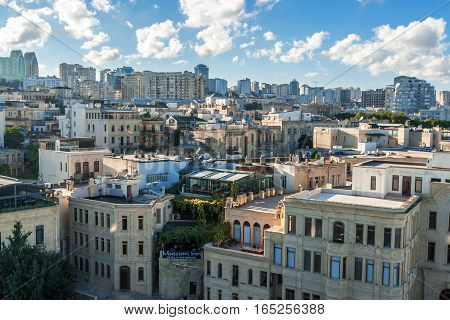 Panoramic View Of Baku.