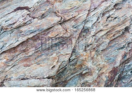 Sea stone texture and background rock texture close up
