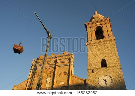 Church Restoration Works San Ginesio
