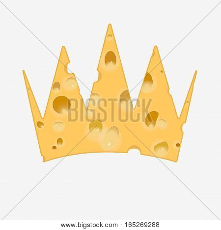 Golden Crown Of Cheese