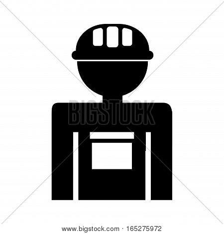 gardener silhouette avatar icon vector illustration design