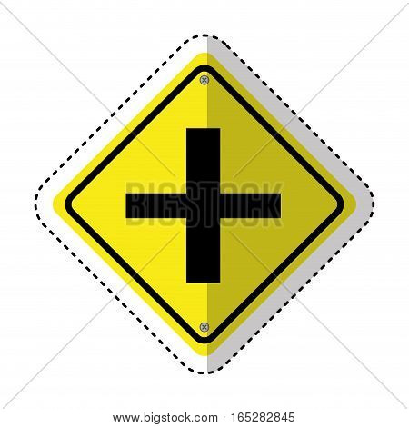 traffic signal information icon vector illustration design