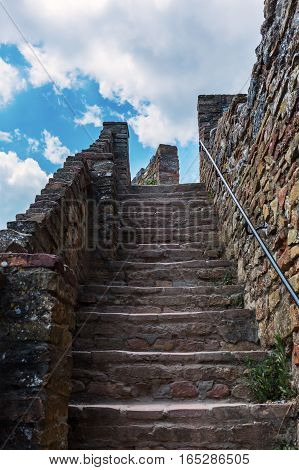 Picture Of Steep Stone Stairs