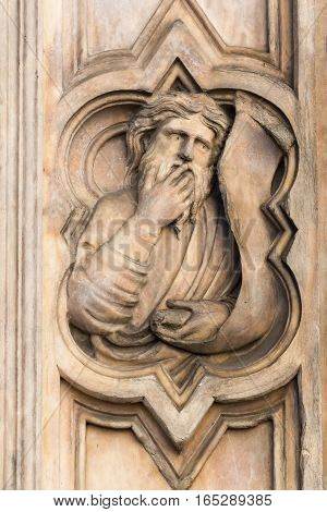 Religious Relief In Florence, Italy