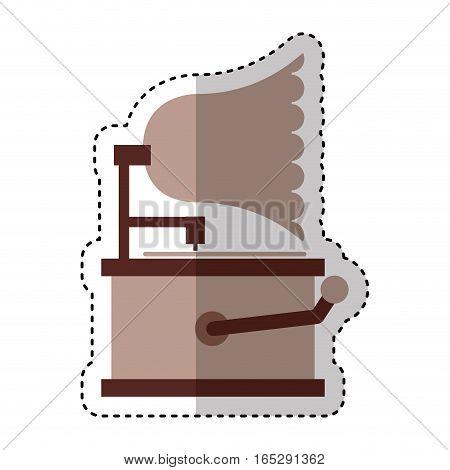 gramophone sound device icon vector illustration design