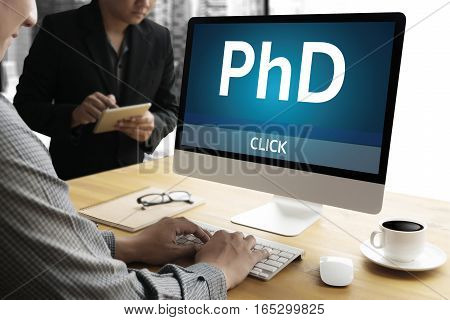 Phd Doctor Of Philosophy Degree Education Graduation ,  Knowledge , Successful Masters Phd