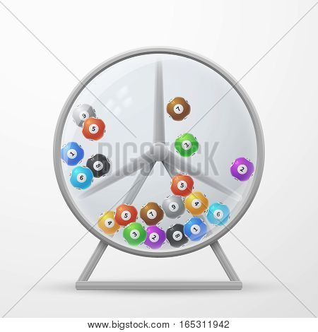 Lotto Machine Lottery Vector & Photo (Free Trial) | Bigstock