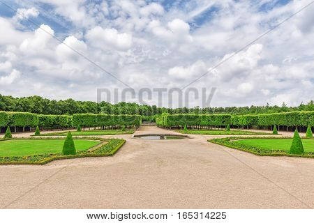 "Grand Trianon Gardens Is Famous French-style Gardens ""filled With All Sorts Of Orange Blossoms, Gree"