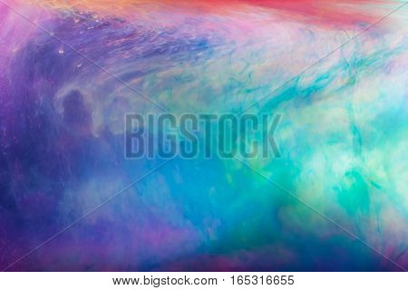 Dye in water. Abstract background. Color background