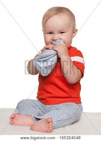 Shy Baby Boy