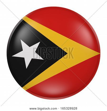Silhouette Of Timor-leste Button