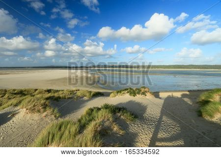 BEACH OF THE TOUQUET,  BAY OF THE CANCHE , PAS-DE-CALAIS, HAUTS-DE-FRANCE ,FRANCE