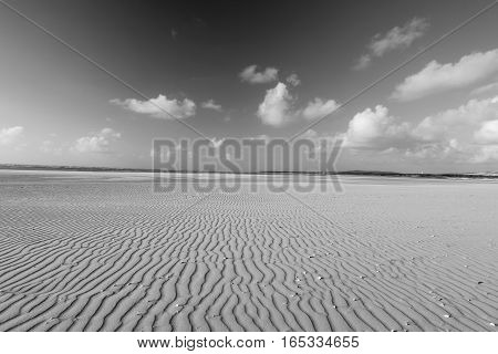BEACH OF THE TOUQUET, PAS-DE-CALAIS, HAUTS-DE-FRANCE ,FRANCE