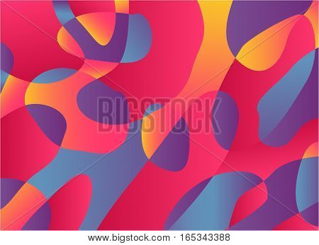 Abstract watercolor palette of mix color, background, vector illustration, mixture stains with a spray of water