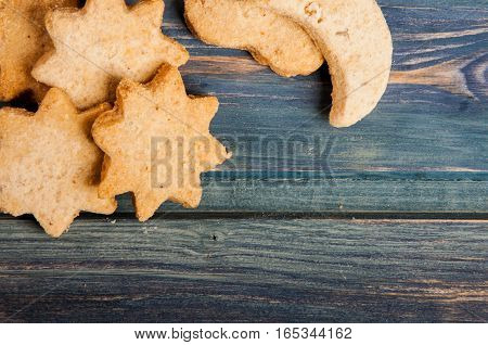 Cookies On Old Kitchen Table