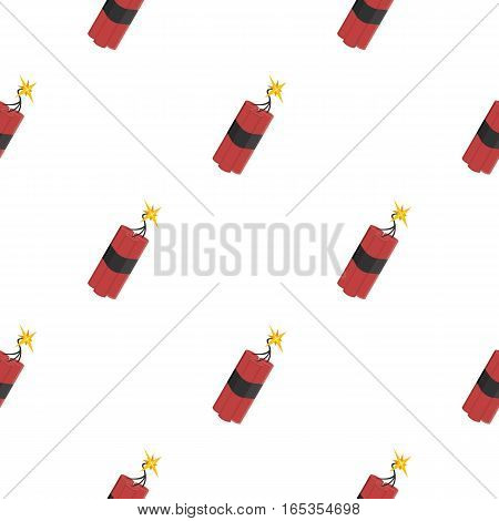 Dynamite icon cartoon. Singe western icon from the wild west cartoon. - stock vector