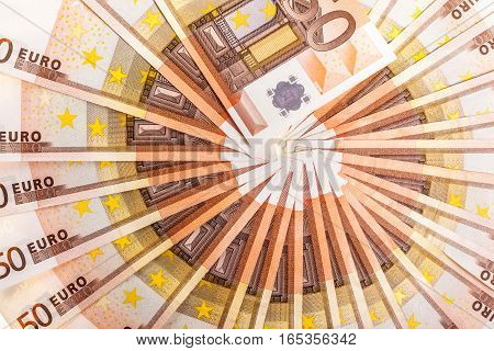 Euro Money Circle Detail