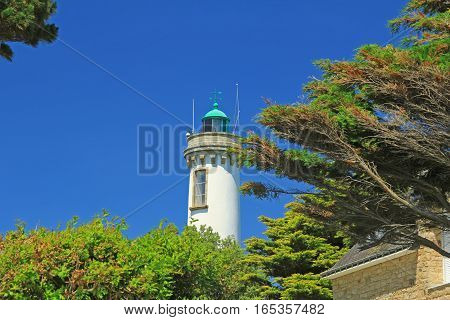 Lighthouse of Arzon, Gulf of Morbihan, Brittany, France