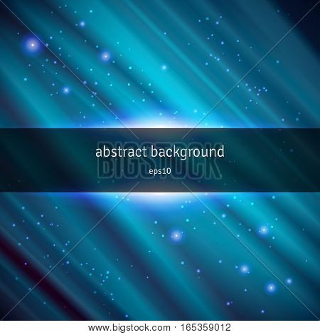 Abstract vector background. Drapery satin decorated with stars.