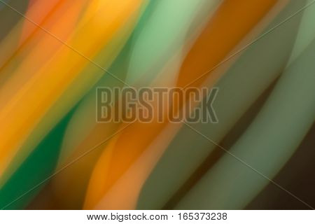 colorful streaks of light blurred for background