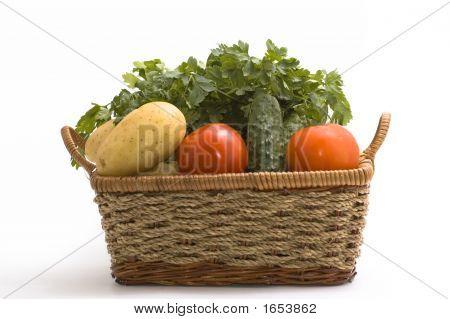 Vegetable In Basket