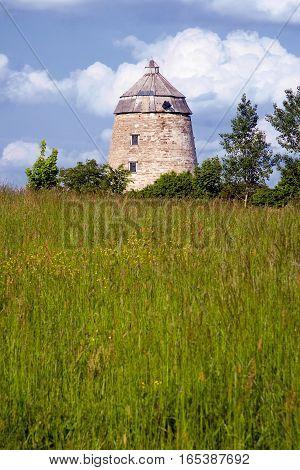 old mill between Zeitz and Zwenkau, Thuringia