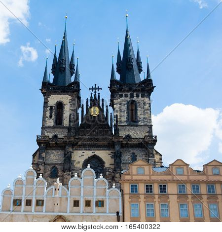 Church Of Our Lady Before Tyn Prague