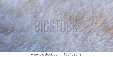 white fake fur texture background, macro shoot