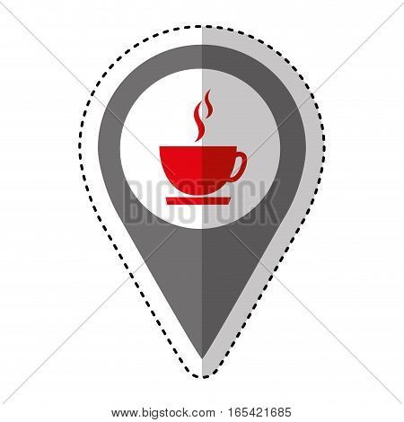 coffee cup isolated icon vector illustration design