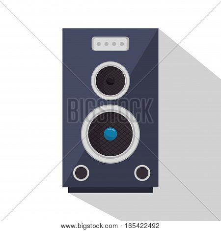 speaker sound device icon vector illustration design