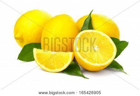 Fresh Ripe Lemons.