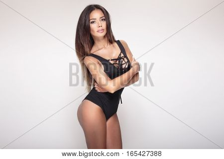 Attractive Sexy Woman Posing.