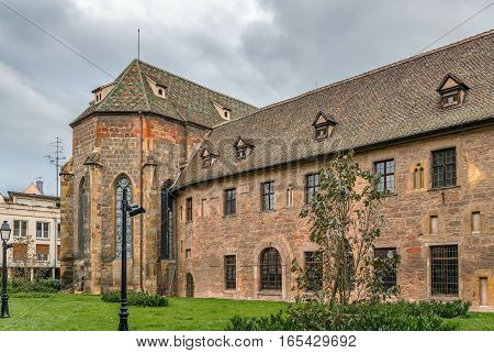 Building of former Dominican religious sisters convent Colmar France