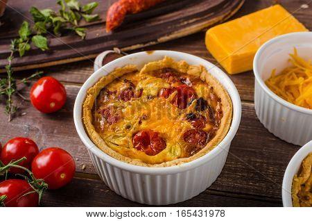 Mini Quiche With Sausage
