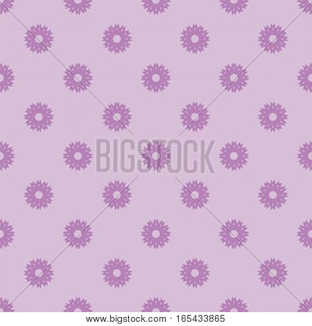 Small violet flowers seamless pattern. Abstract floral webpage background. Vector