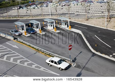 car parking space at airport