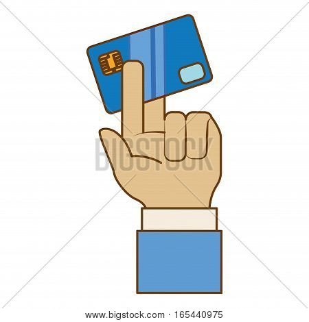 credit or debit card payment economy related icon image vector illustration design