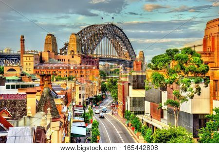 Sydney Harbour Bridge, built in 1932. Australia, New South Wales