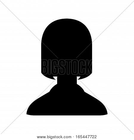 silhouette user avatar icon vector illustration design
